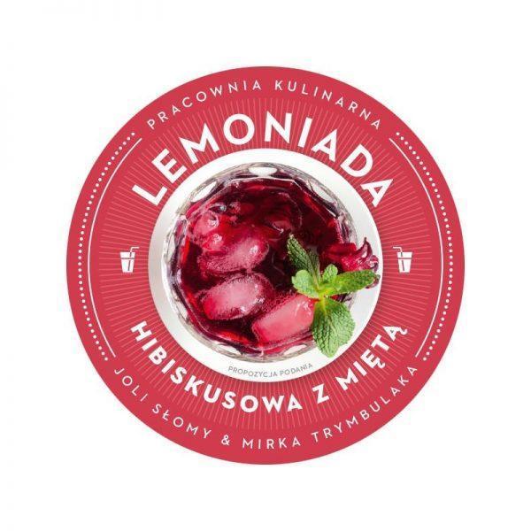 Bezglutenowa i wegańska lemoniada hibiskusowa z miętą