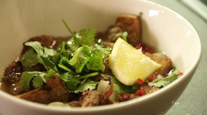 Zupa Pho - wegańska i bezglutenowa