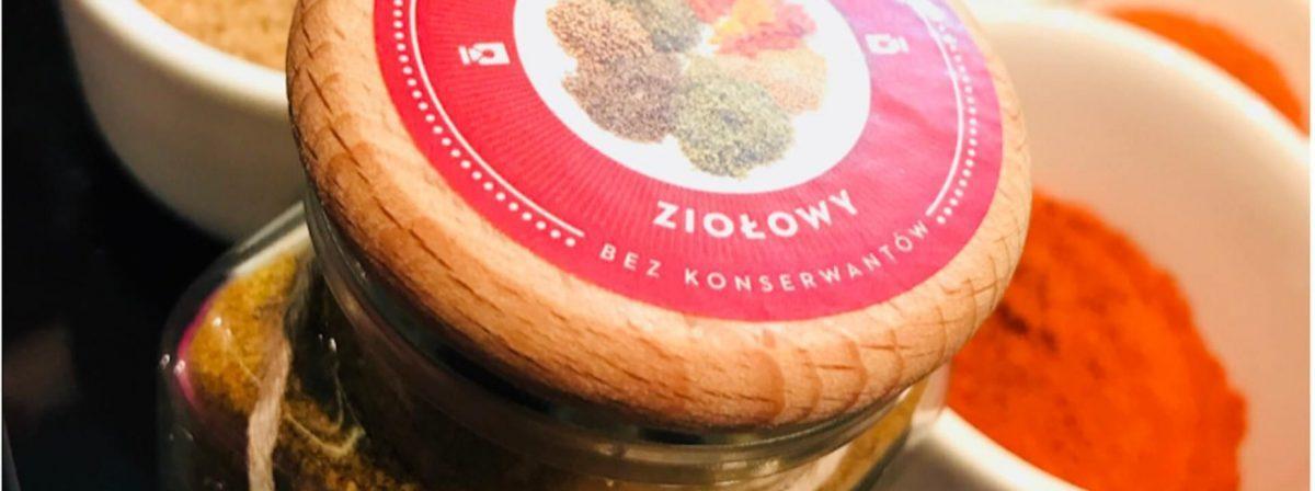Pieprz ziołowy bezglutenowa kuchnia wegańska Atelier Smaku