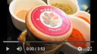 216YT Bezglutenowy i wegański pieprz ziołowy
