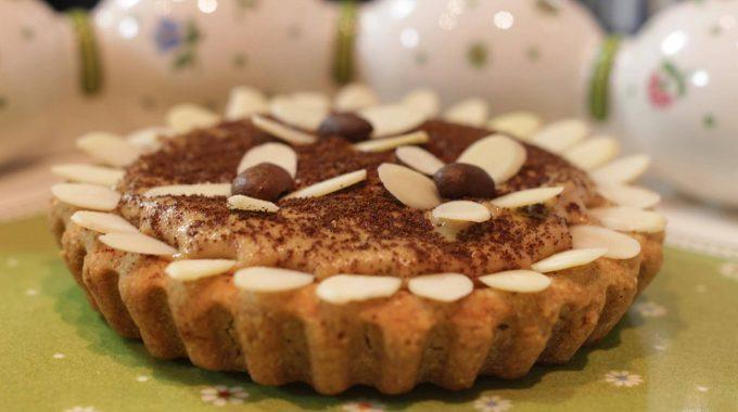 Kawowy mazurek bezglutenowa kuchnia wegańska Atelier Smaku