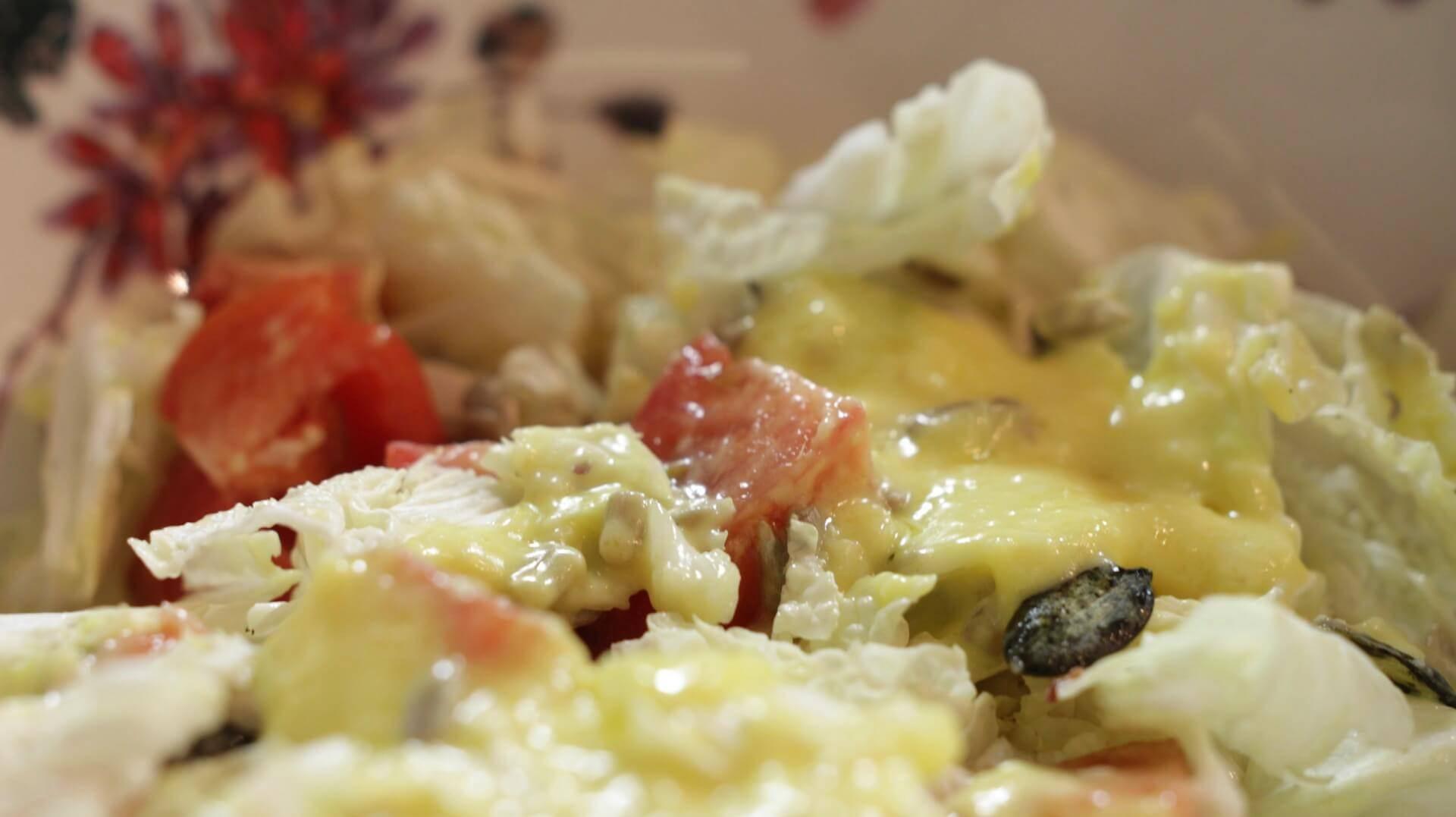 Cytrynowy vinegret bezglutenowa kuchnia wegańska Atelier Smaku
