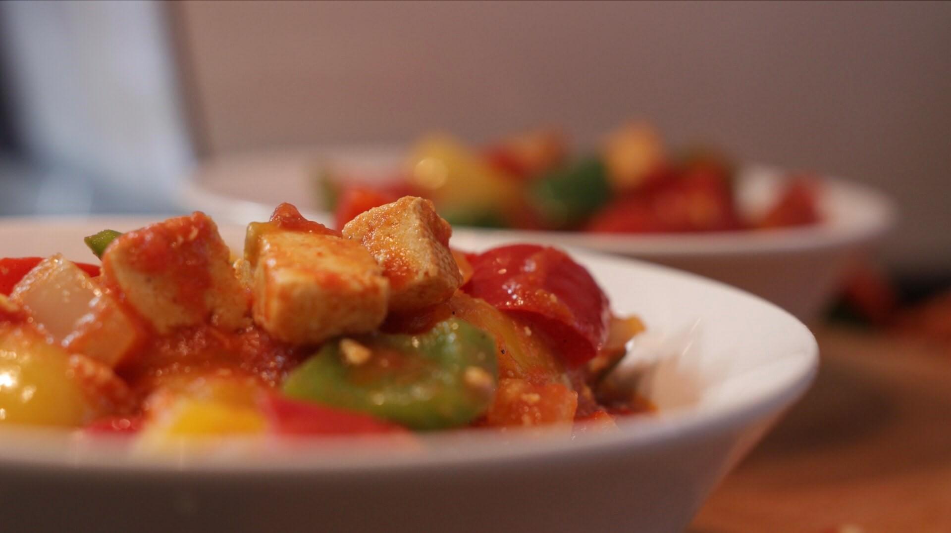 Wegańskie i bezglutenowe leczo bezglutenowa kuchnia wegańska Atelier Smaku
