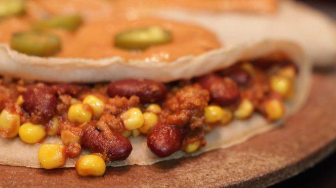 Naleśniki po meksykańsku bezglutenowa kuchnia wegańska Atelier Smaku