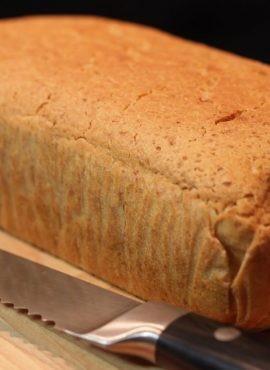 Bezglutenowy chleb tostowy bezglutenowa kuchnia wegańska Atelier Smaku