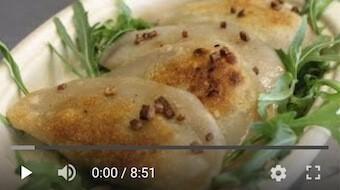 100YT Bezglutenowe i wegańskie pierogi nie ruskie z tofu 400g (10 szt.)