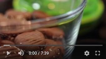 128YT Bezglutenowe i wegańskie ciastko karobowe