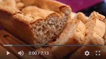 26YT Bezglutenowy i wegański chleb gryczany na drożdżach