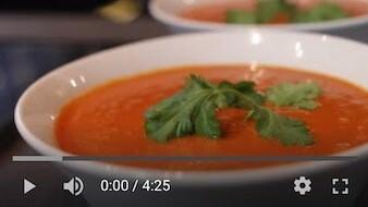 280YT Bezglutenowa i wegańska zupa z zielonej soczewicy