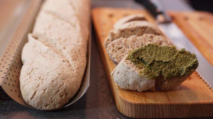 Bezglutenowe bagietki bezglutenowa kuchnia wegańska Atelier Smaku