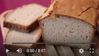 32YT Bezglutenowy i wegański chleb gryczany na zakwasie