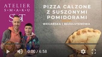 385YT Bezglutenowa i wegańska pizza z suszonymi pomidorami